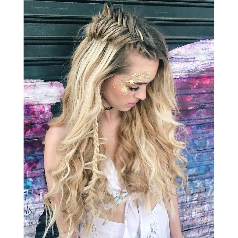 20 Music Festival Hairstyle Ideas To Try This Summer Fresh Hair Studio